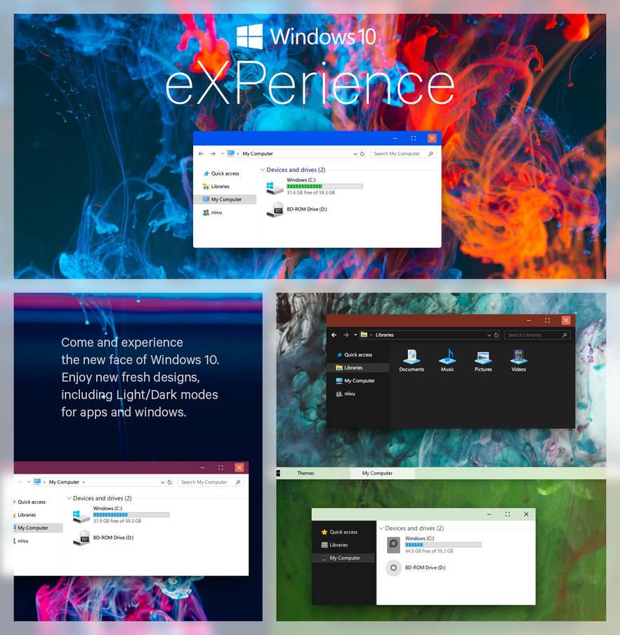 eXPerience - Windows 10 Theme by niivu