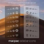 macpac sidebar icons