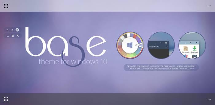 Base Theme For Windows 10