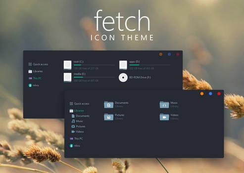 Fetch Icon Theme