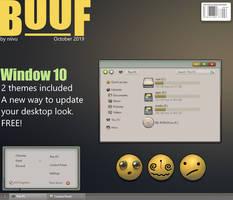 buuf theme for Windows 10