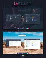 Gruvy Theme for Windows 10