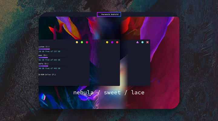 Paranoid Android Windows 10 Themes