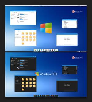 10X Windows 10 Theme