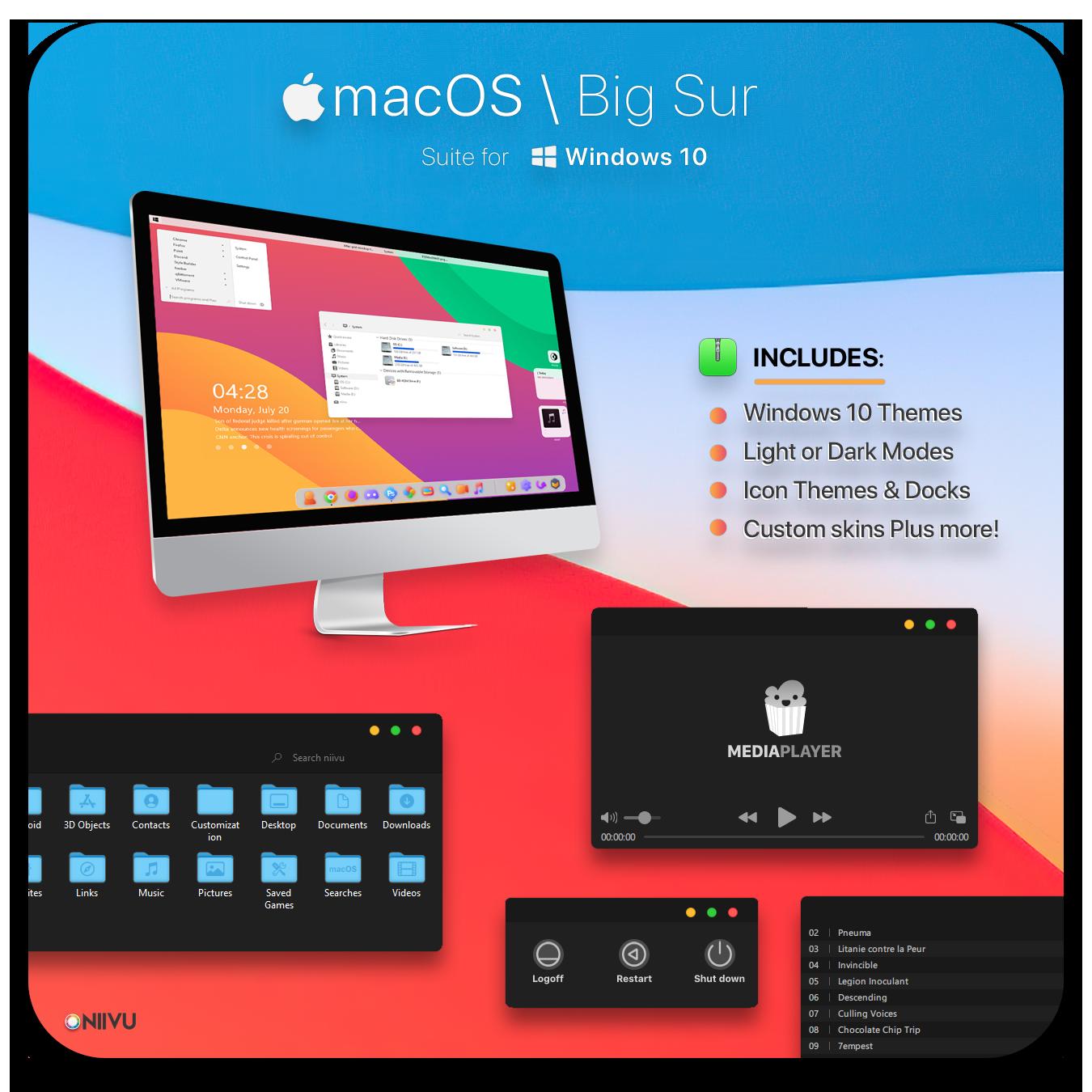Big Sur Windows 10 Suite