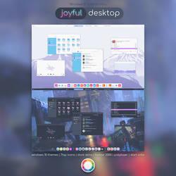 Joyful Desktop - Windows 10 Theme