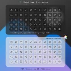 Fluent Keys Icon Theme