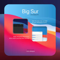 Big Sur 2 - Windows 10 Themes