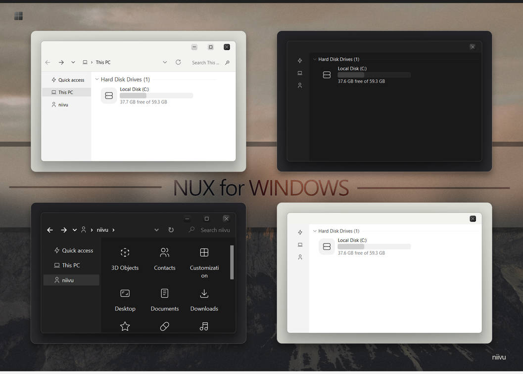 NUX for Windows