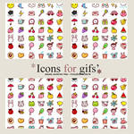 Icons for Gifs