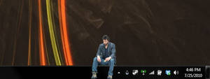 Sad Keanu Rainmeter Skin