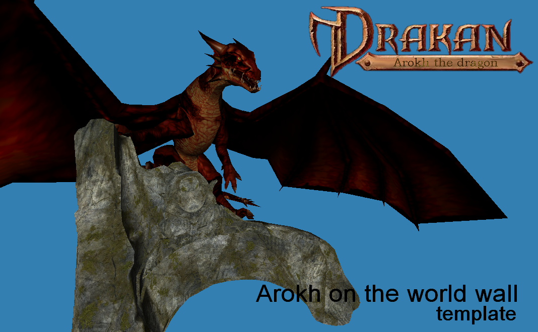 Arokh on the world wall - template