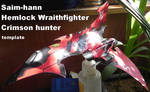 Hemlock wraithfighter/crimson hunter papercraft