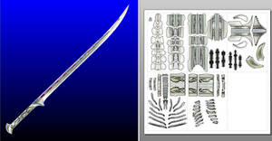 Thranduil Sword template