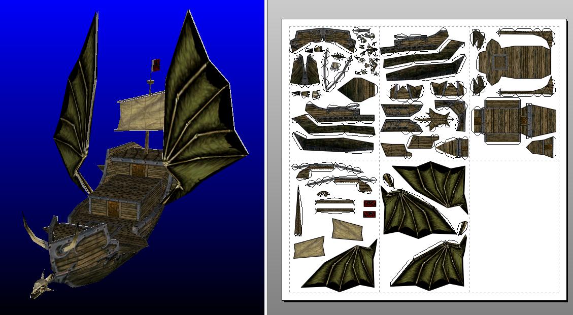 Dragonslayer ship template by MorellAgrysis