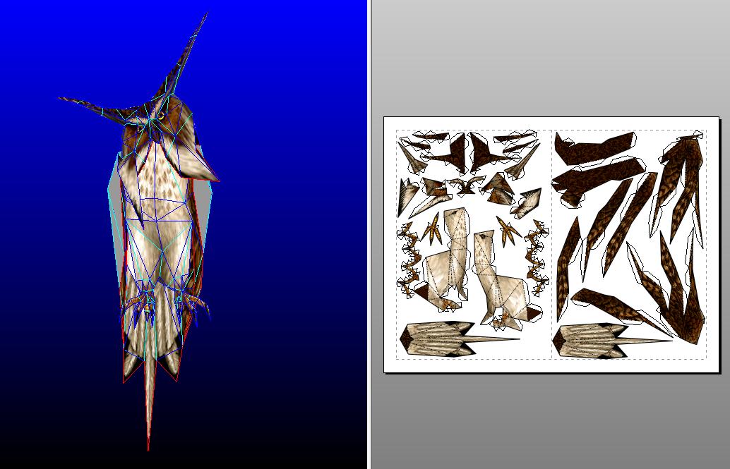 Drakan Owl - template by MorellAgrysis
