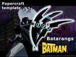 Batarangs  - template by MorellAgrysis
