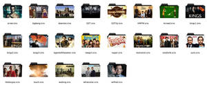 TV shows folder icons