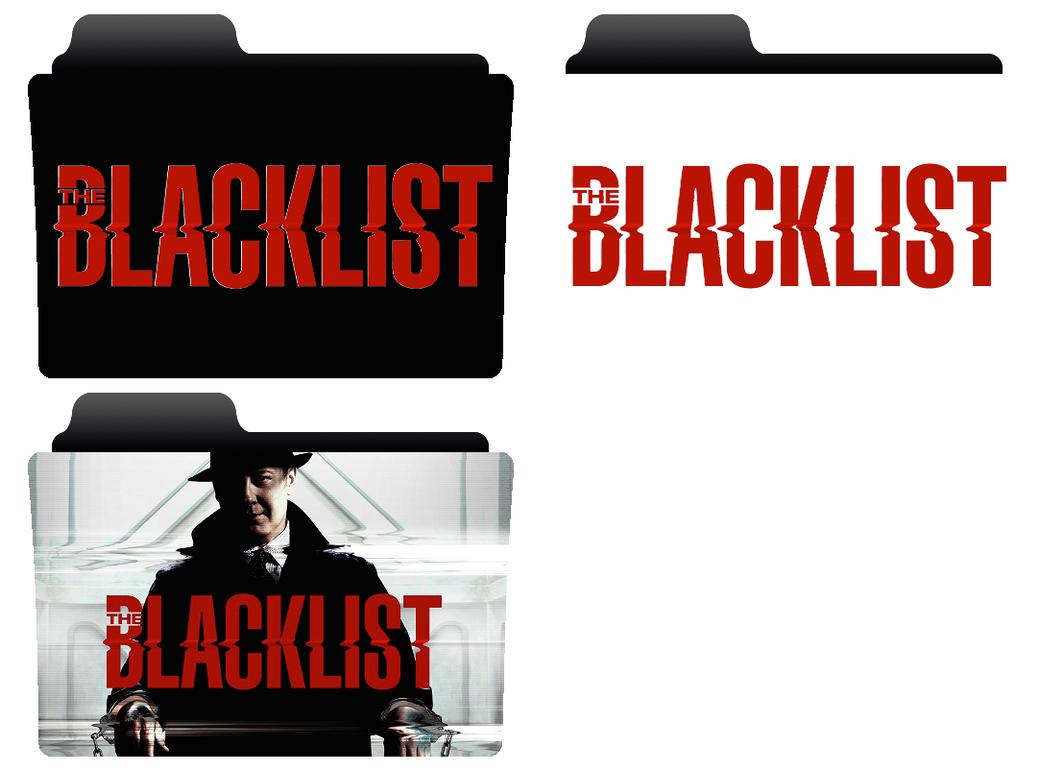 The Blacklist folder icon by NonStopSarah on DeviantArt