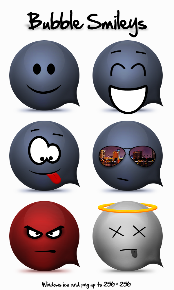Bubble Smileys