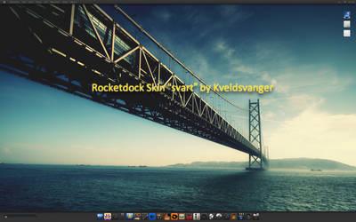 Rocketdock Skin ' svart' by Kveldsvanger