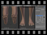 Foot To Hand Morph, Step By Step
