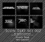 Icon Text Textures Set 002