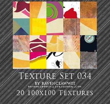 Texture Set 034 by RavenclawWit