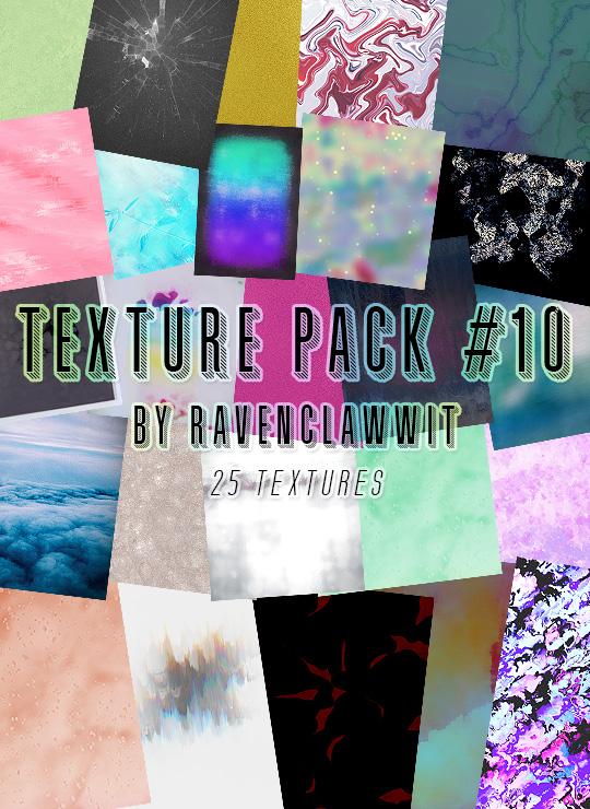 Set 10 Textures Ravenclawwit by RavenclawWit