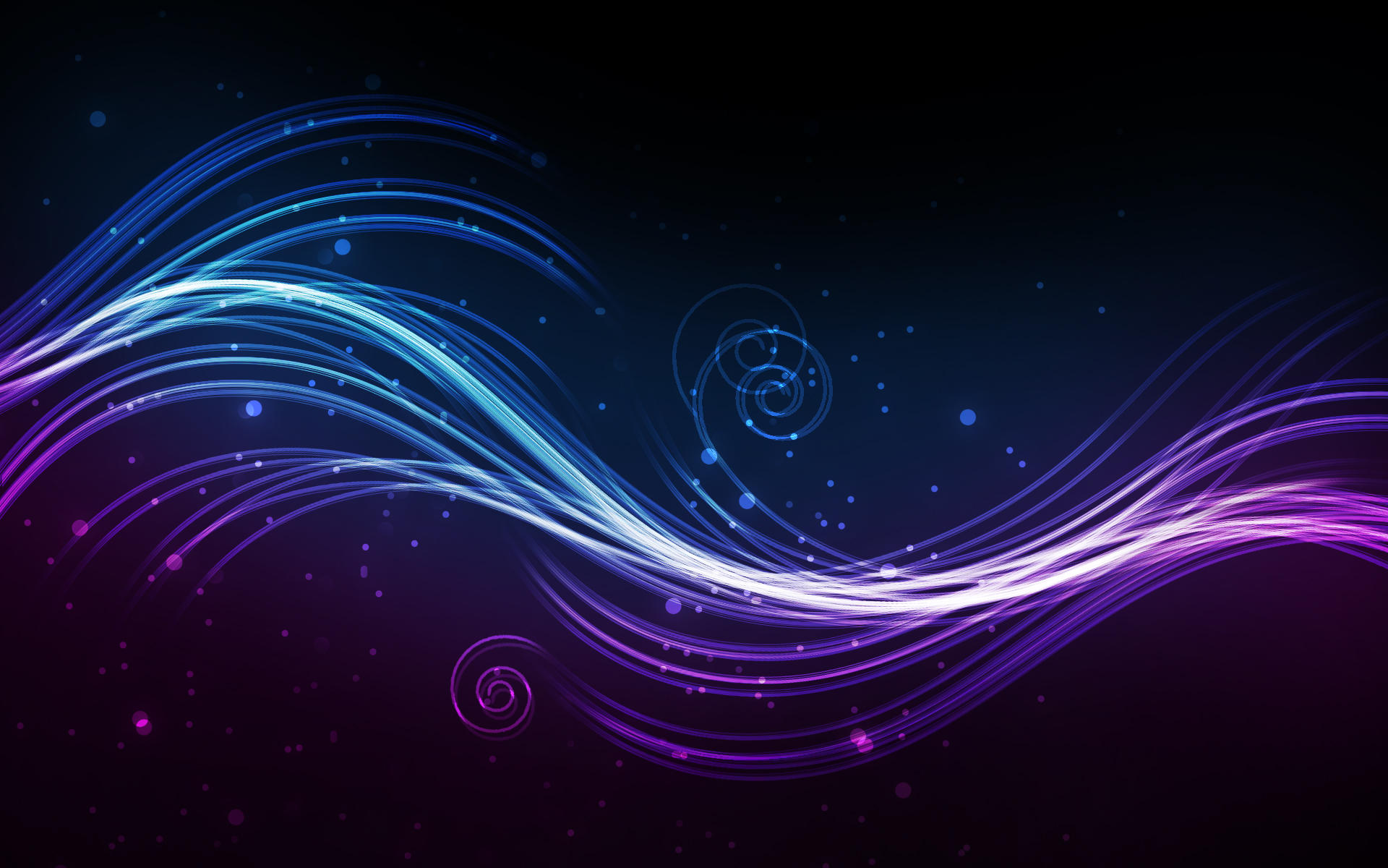 Glow wallpaper series no. 1 by yvaine2010