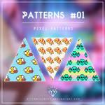 Pixel Patterns By Myvanillasky