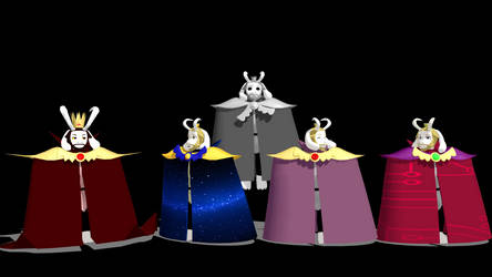 Asgore (wrappy cape) pack 1.0