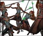 Elf warrior set 2