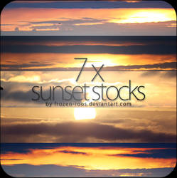 7x sunset stocks by frozen-roos