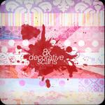 8x Decorative Scans