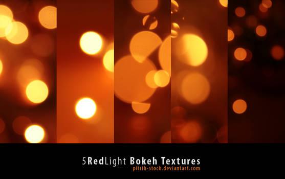Red Bokeh Texture