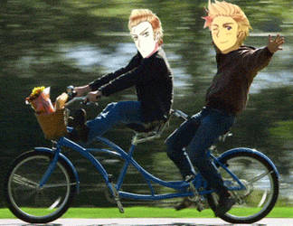 bike bros *gif* by tobi-chann