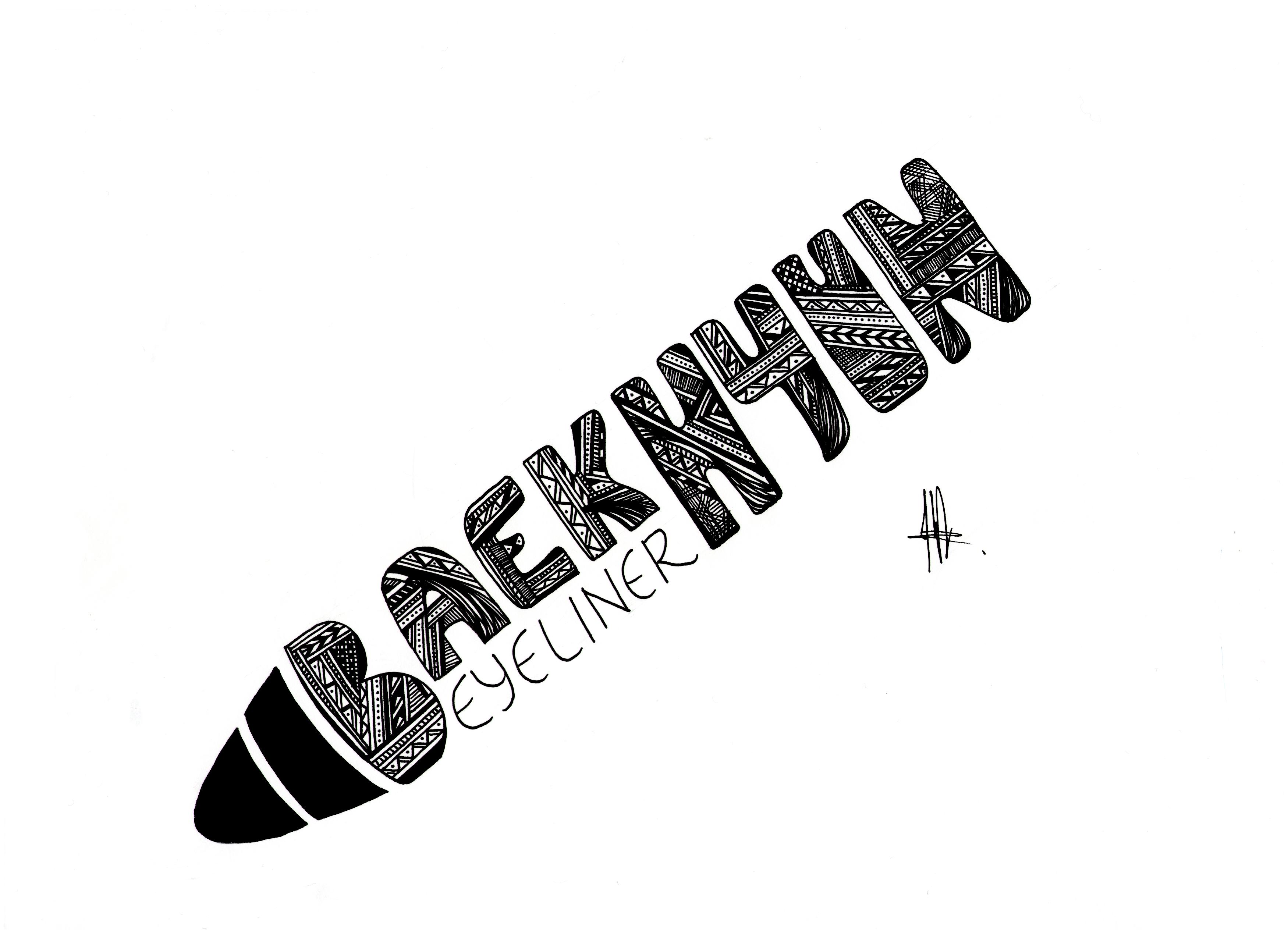 EXO-BeakHyun logo#4