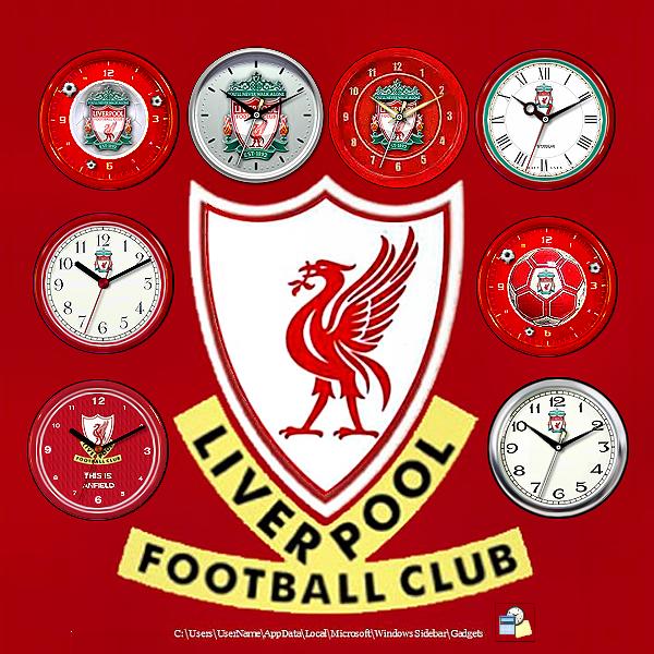Liverpool FC Clocks by RobDebo on DeviantArt