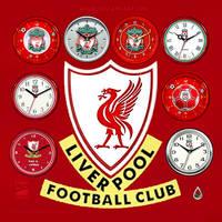 Liverpool FC Clocks by RobDebo