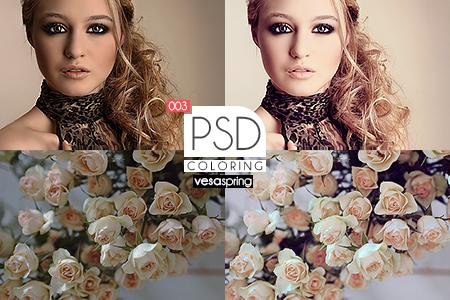 PSD Coloring 003 by vesaspring