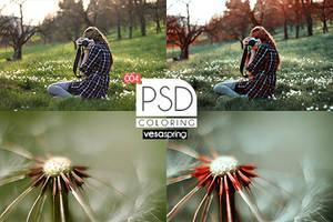 PSD Coloring 004 by vesaspring