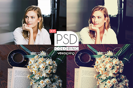 PSD Coloring 005 by vesaspring