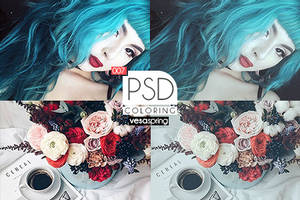 PSD Coloring 007 by vesaspring