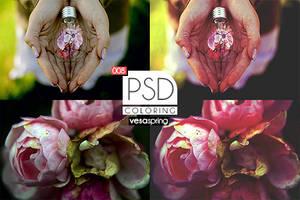 PSD Coloring 008 by vesaspring