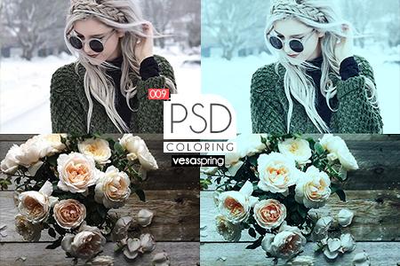 PSD Coloring 009 by vesaspring