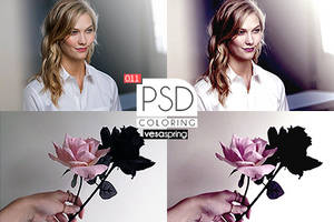 PSD Coloring 011 by vesaspring