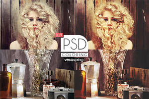 PSD Coloring 019 by vesaspring