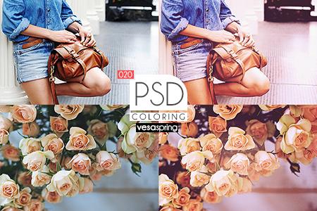 PSD Coloring 020 by vesaspring