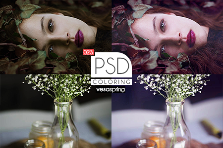 PSD Coloring 023 by vesaspring